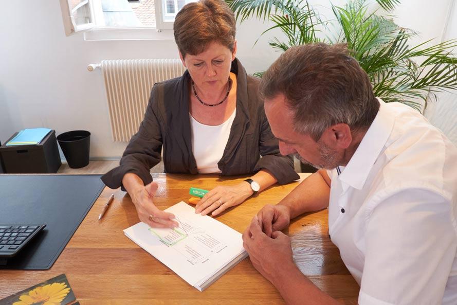 Renate Lorenz im Coaching